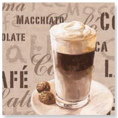 Artland Wandbild Coffee Latte Macchiato von Jule - 60 x 60 cm