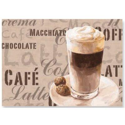 Artland Wandbild Coffee Latte Macchiato von Jule