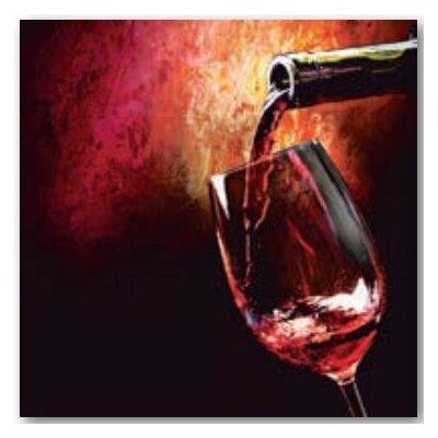 Artland Wandbild Rotwein von Subbotina, Anna