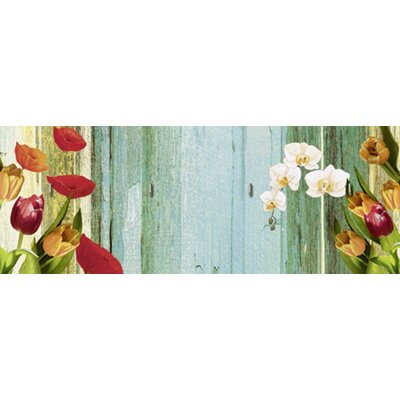 Artland Schlüsselbrett Blumen