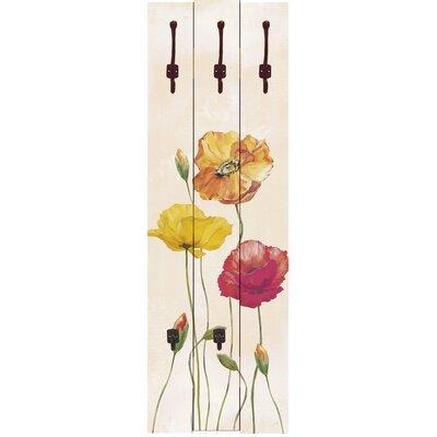 Artland Garderobenpaneele Mohnblumen