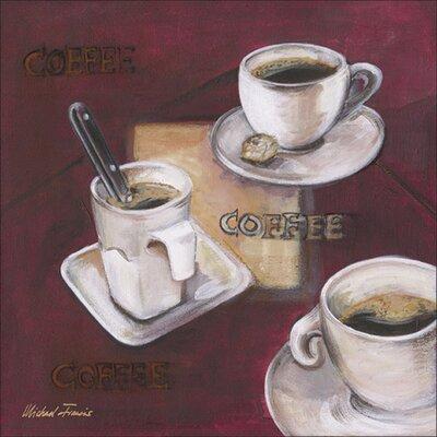 Artland Leinwandbild Kaffee I von Francis, Michael