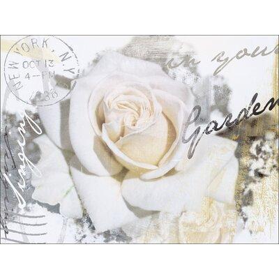 Artland Leinwandbild In Buchstaben Rose von L., S.