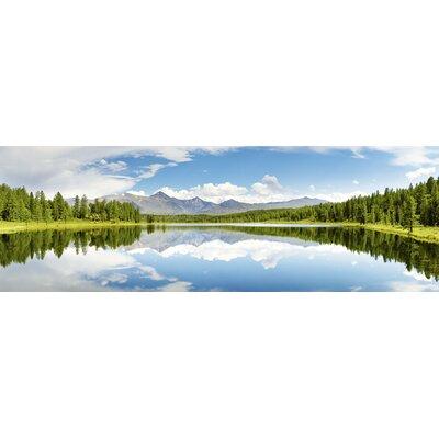 Artland Leinwandbild Bergsee