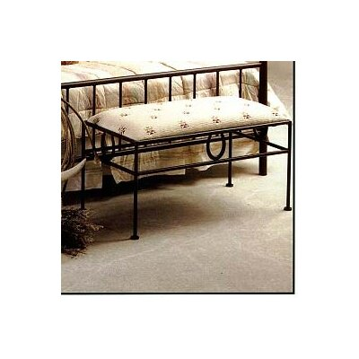 Frontier Upholstered Bench Color: Satin Black
