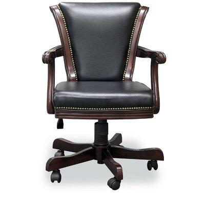 Mont V-Back Executive Chair Frame Finish: Traditional Mahogany