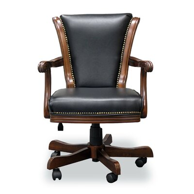 Mont V-Back Executive Chair Frame Finish: Warm Chestnut