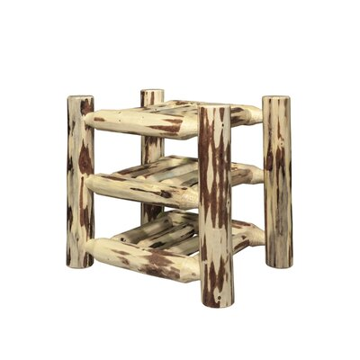 Abordale 9 Bottle Tabletop Wine Rack Finish: Lacquered
