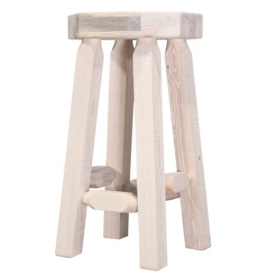 "Katlyn 30"" Octagonal Bar Stool Finish: Lacquered"