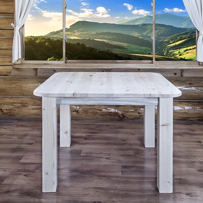 """Katlyn Dining Table Finish: Lacquered, Size: 30"""" H x 45"""" W x 45"""" D"""