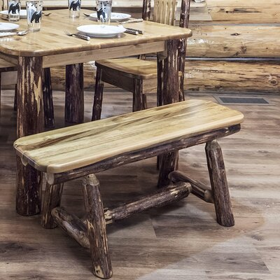 "Tustin Plank Bench Size: 18""H x 48""W x 20""D"