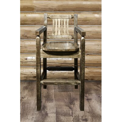"""Katlyn 30"""" Bar Stool Finish: Stain and Lacquer"""