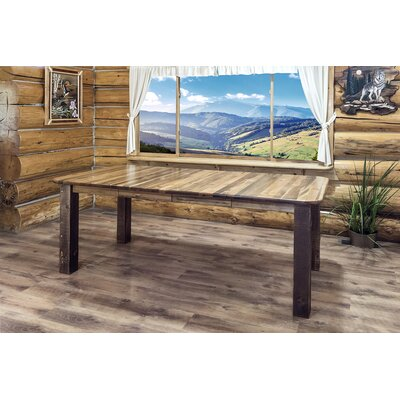 Katlyn 4 Post Extendable Dining Table Finish: Stain & Lacquer Finish