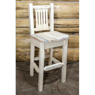 "Katlyn 30"" Square Bar Stool Finish: Ready to Finish"