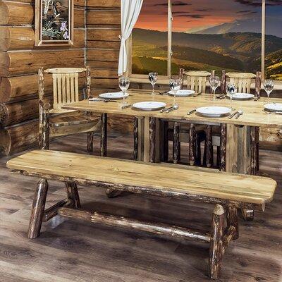 "Tustin Plank Bench Size: 18""H x 72""W x 12""D"