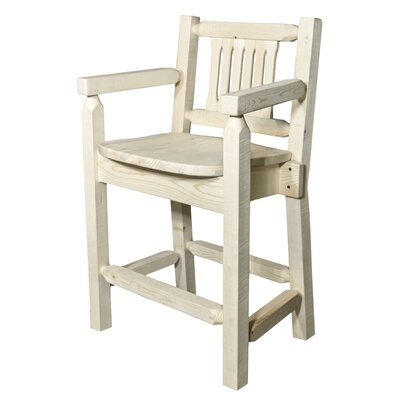 "Katlyn 24"" Bar Stool Finish: Natural"