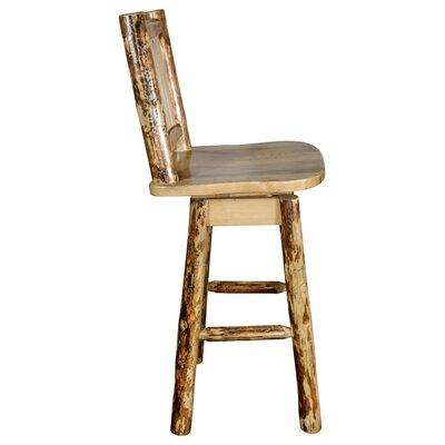 "Tustin 24"" Square Seat Swivel Bar Stool"
