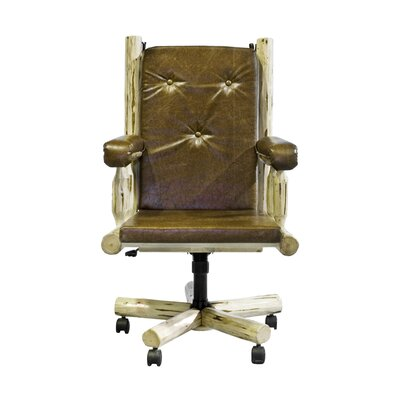 Abordale High-Back Bankers Chair Finish: Lacquered