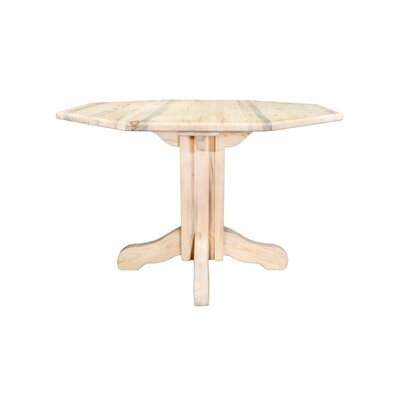 Katlyn Center Pedestal Table Finish: Ready To Finish