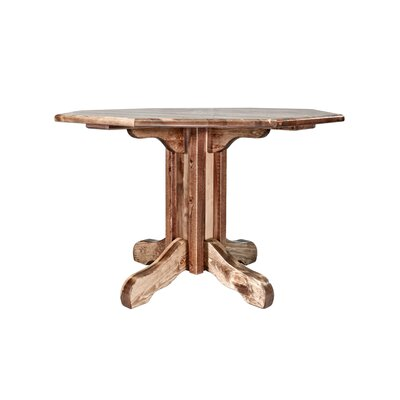 Katlyn Center Pedestal Table Finish: Lacquered