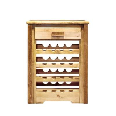 Katlyn 16 Bottle Floor Wine Rack Finish: Stained and Lacquered