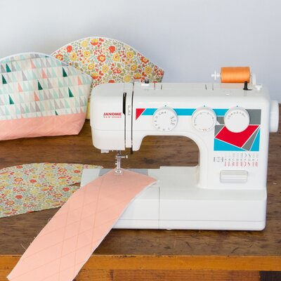Janome MOD-19 Easy-to-Use Basic Sewing Machine