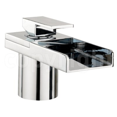 Crosswater Water Square Waterfall Bath Tap