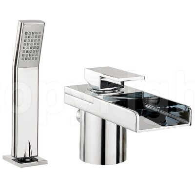 Crosswater Water Square Waterfall Bath Tap