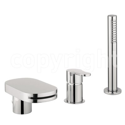 Crosswater Central Waterfall Bath Tap