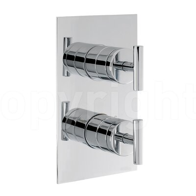 Crosswater Glide Twin Concealed Shower Valve