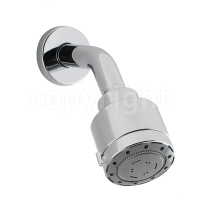 Crosswater Reflex 6.56cm Fixed Shower Head with Wall Arm
