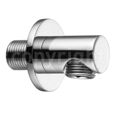 Crosswater Designer Golf Wall Outlet in Chrome
