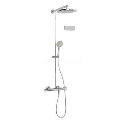 Crosswater Central Cool Touch Thermostatic Mixer Shower