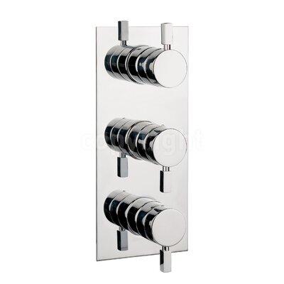 Crosswater Logic Triple Concealed Shower Valve