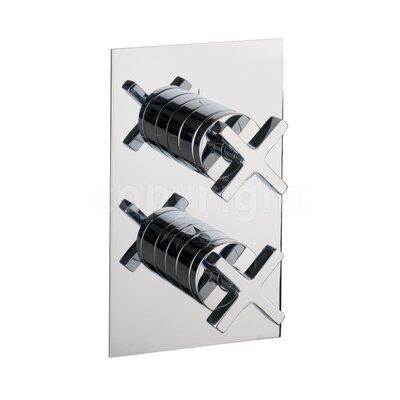Crosswater Alvero Twin Concealed Shower Valve with Diverter