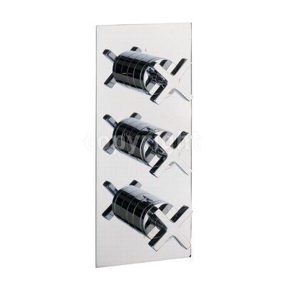 Crosswater Alvero Triple Concealed Shower Valve with Diverter