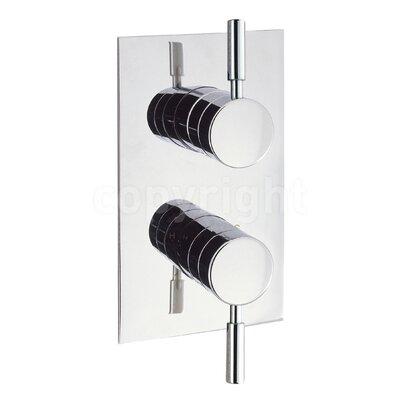 Crosswater Design Twin Concealed Shower Valve