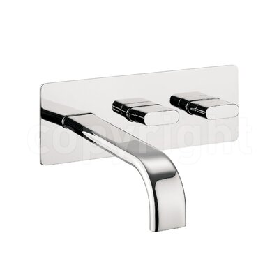 Crosswater Edge Wall Mounted Basin Mixer
