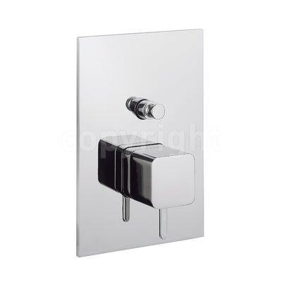 Crosswater Elise Single Concealed Shower Valve with Diverter