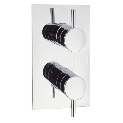 Crosswater Elite Twin Concealed Shower Valve