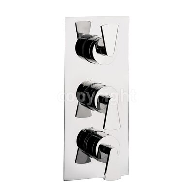 Crosswater Essence Triple Concealed Shower Valve