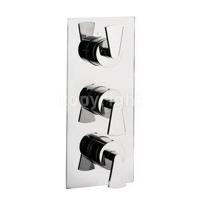 Crosswater Essence Triple Concealed Shower Valve with Diverter