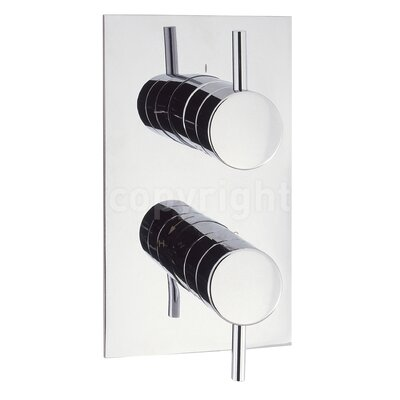 Crosswater Kai Twin Concealed Shower Valve with Diverter