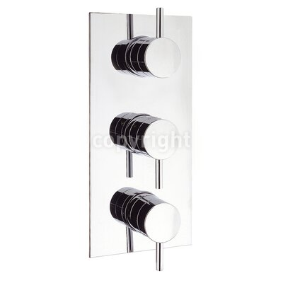 Crosswater Kai Triple Concealed Shower Valve with Diverter