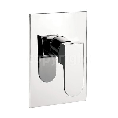 Crosswater Modest Single Concealed Shower Valve