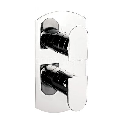 Crosswater Modest Twin Concealed Shower Valve