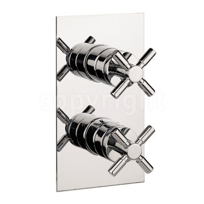 Crosswater Totti Twin Concealed Shower Valve