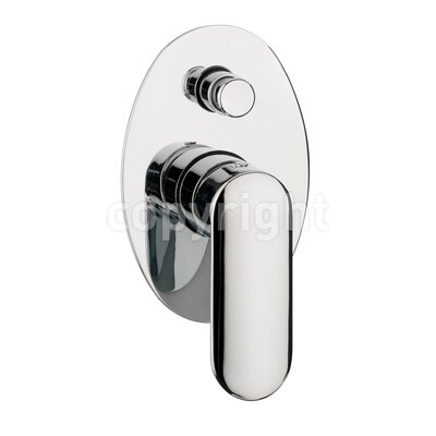 Crosswater Voyager Single Concealed Shower Valve with Diverter