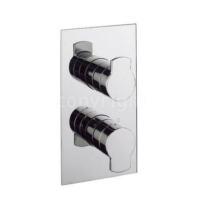 Crosswater Wisp Twin Concealed Shower Valve with Diverter