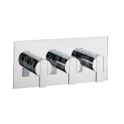 Crosswater Zeya Triple Concealed Shower Valve with Diverter